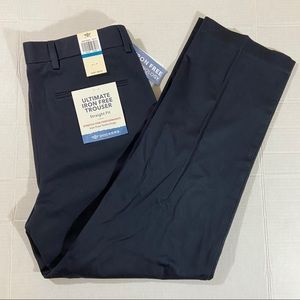 Docker's Iron Free straight fit trousers